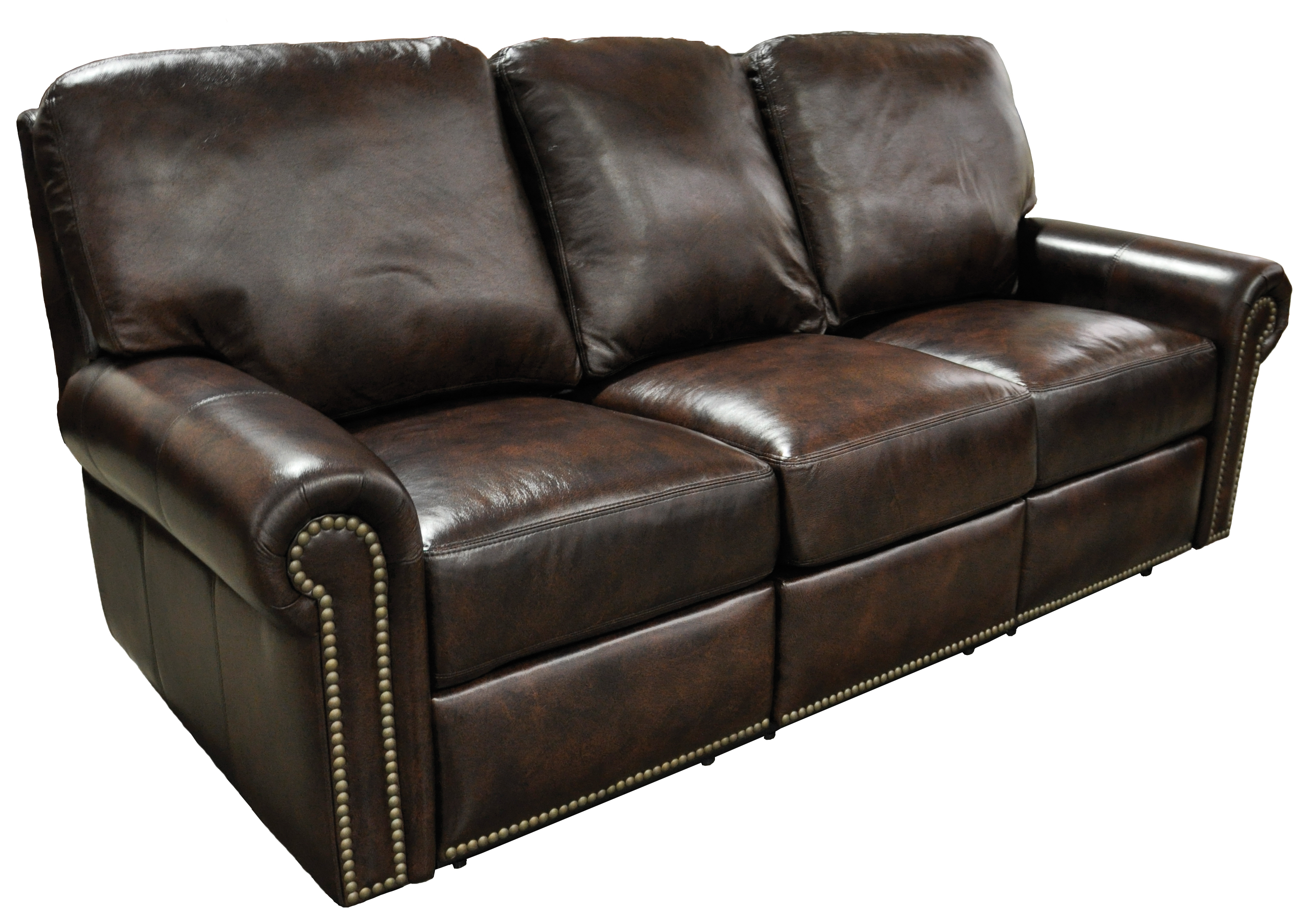 Omnia Leather Fairfield Reclining Sectional