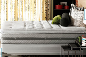 Picture of a mattress to illustrate Broadway Furniture in Tigard sells lots of mattresses. And through the years (lots and lots of years), there is a consistent question we get from our customers: How often should you rotate your mattresses