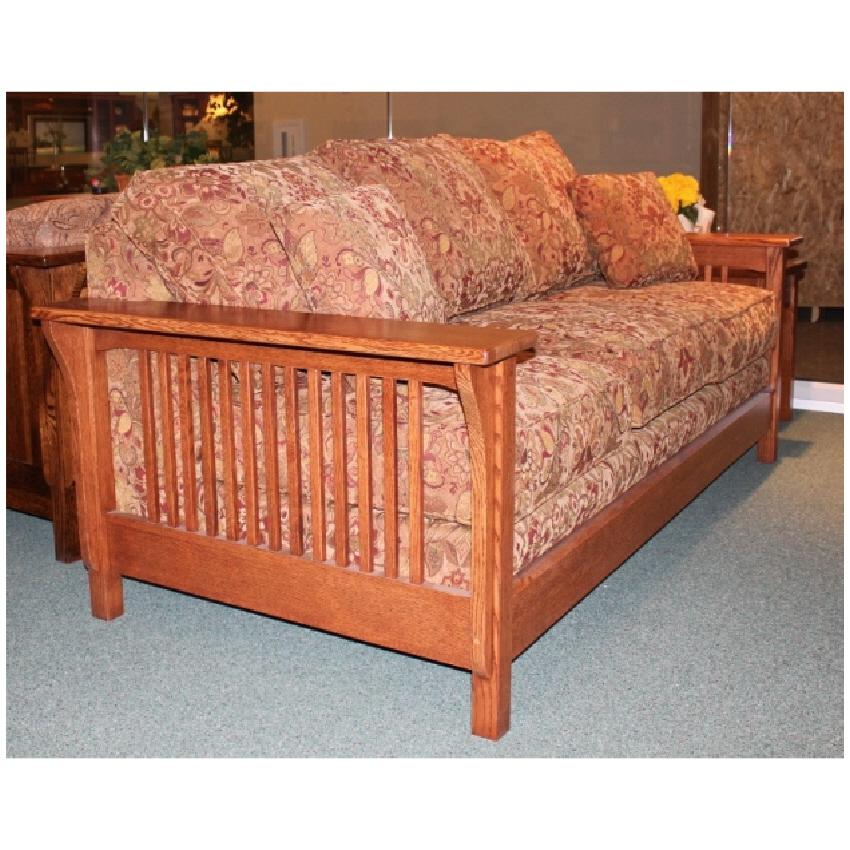 Trend Manor Mission Sleeper Sofa Broadway Furniture