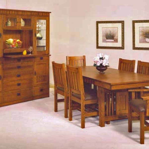 Trend Manor Mission Dining Room Set | Broadway Furniture