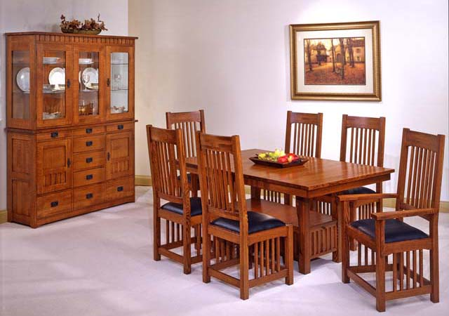 Trend Manor Mission Dining Room Set Broadway Furniture