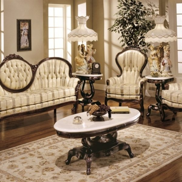 Victorian Living Room Furniture Set 606 Part 48