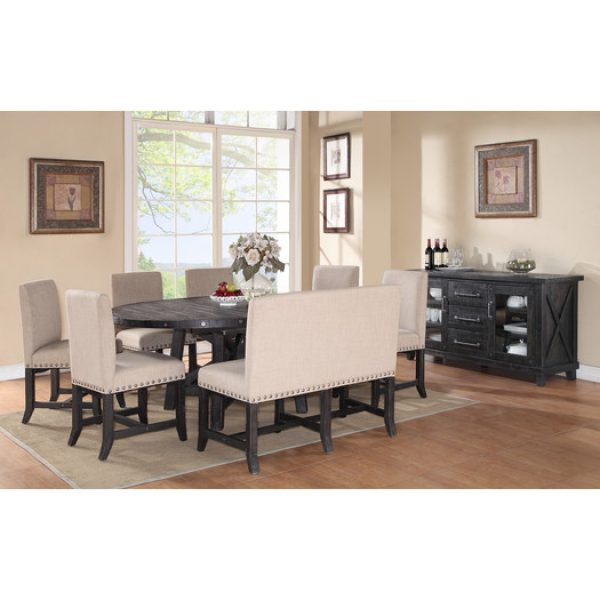 Yosemite Extendable Dining Table And Chairs