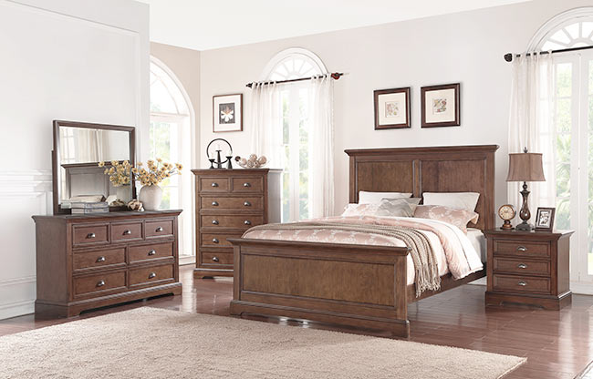 Tamarack Panel Queen Bed By Winners Only Broadway Furniture