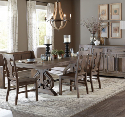 Toulon Dining Table by Homelegance
