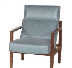 Abby Wood Accent Chair by Jonathan Louis
