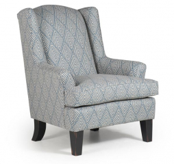 Andrea Wing Back Chair by Best Home Furnishings