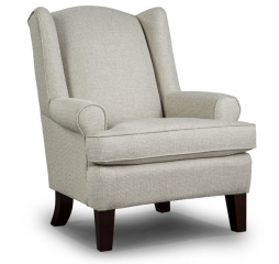 Amelia Wing Back Chair by Best Home Furnishings
