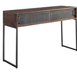 Metropolitan Sliding Door Console Table by Porter