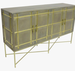 Mondrian Four Door Cabinet by Porter