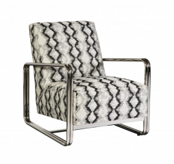 Copeland Leather Accent Chair by Jonathan Louis