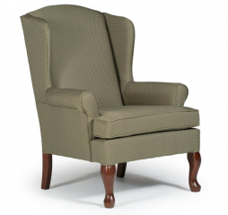Doris Wing Back Chair by Best Home Furnishings