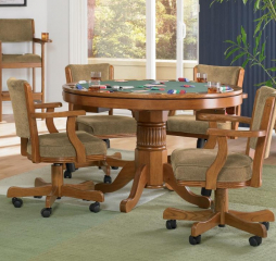 Mitchell Traditional Marietta Oak Game Table by Coaster