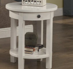 Kona Round End Table by North American Wood