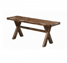 Alston X Shaped Dining Bench by Coaster