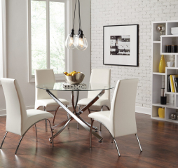 Beckham Round Dining Table by Coaster