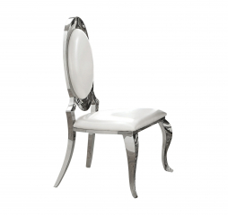 Antoine Oval Back Side Chair by Coaster