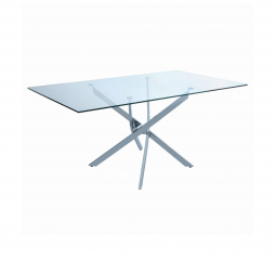 Carmelo X-Shaped Dining Table by Coaster