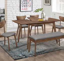 Alfredo Rectangular Dining Table by Coaster