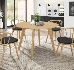 Merced Round Dining Table by Coaster