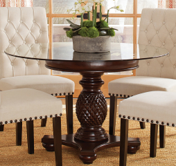 Anniston Pedestal Dining Table by Coaster