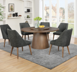 Beverly Drum Base Round Dining Table by Coaster