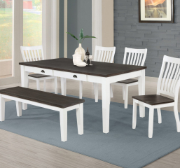 Kingman Four Drawer Dining Table by Coaster