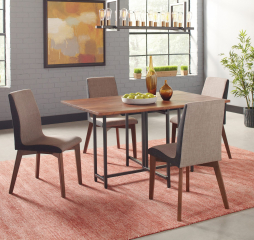 Bridgeport Dining Table w/ Two Drop Leaves by Coaster