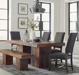 Townsend Sheesham Dining Table by Coaster