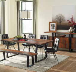 Ditman Live Edge Dining Table by Coaster