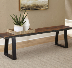 Ditman Live Edge Dining Bench by Coaster