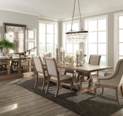Brockway Cove Trestle Dining Table by Coaster