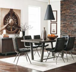Dittnar Rectangular Dining Table by Coaster