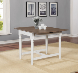 Hesperia Rectangular Drop Leaf Dining Table by Coaster