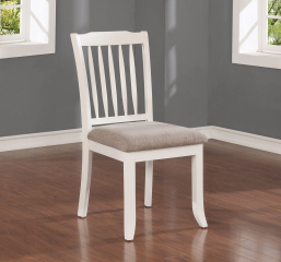 Hesperia Slat Back Dining Chair by Coaster