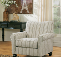 Milari Linen Accent Chair Signature Design by Ashley