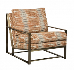 Addison Metal Accent Chair by Jonathan Louis