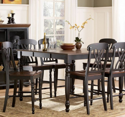 Ohana 36″ Counter Height Dining Table w/ 18″ Leaf by Homelegance