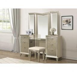 Bijou Vanity Dresser w/ Mirror by Homelegance