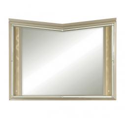 Bijou Mirror w/ LED Lighting by Homelegance