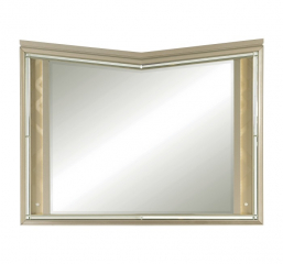 Bijou Mirror w/ LED Lighting by Homelegance