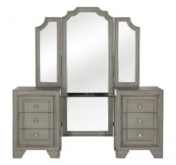 Colchester Vanity Dresser w/ Mirror by Homelegance