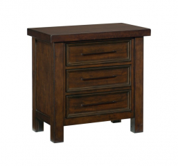 Logandale Nightstand by Homelegance