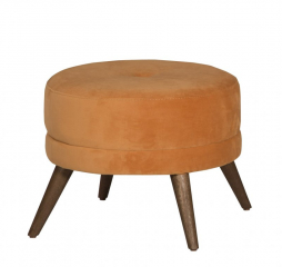 Bibi Round Accent Footstool by Jonathan Louis