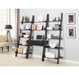 Colella Transitional Wall Leaning Ladder Desk by Coaster