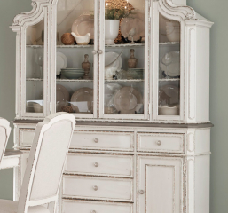 Willowick Buffet and Hutch by Homelegance