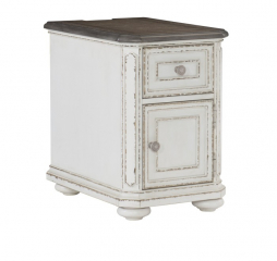 Willowick Chairside Table by Homelegance