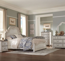 Willowick Panel Bed by Homelegance
