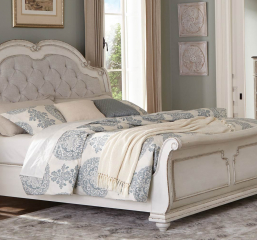 Willowick Sleigh Bed by Homelegance