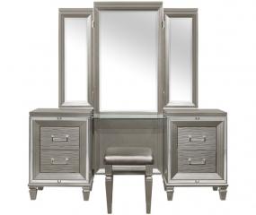 Tamsin Vanity Dresser w/ Mirror by Homelegance